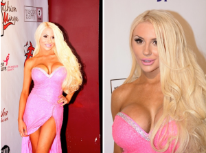 Courtney Stodden Shows Off Her New Plastic Surgery Gifts On The Runway