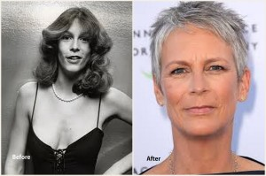 Jamie Lee Curtis Plastic Surgery Before and After Photo