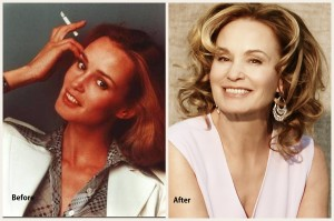 Jessica Lange Plastic Surgery Jessica Lange Before and After Photo