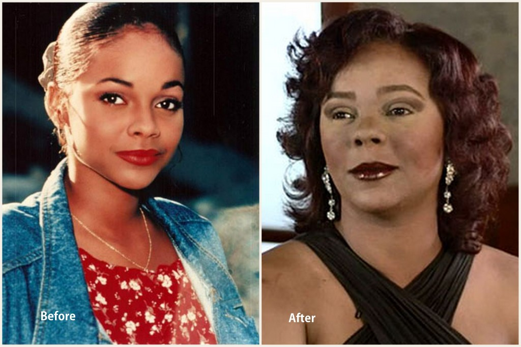 Lark Voorhies Plastic Surgery Lark Voorhies Before and After photo