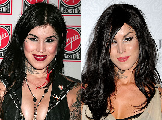 Kat Von D plastic surgery Kat Von D before and after photo