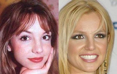 britney spears before and after photo