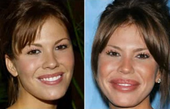 Nikki cox before and after photo