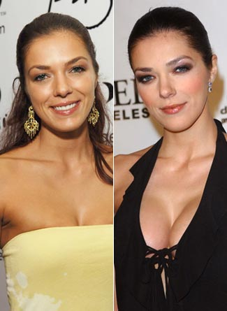 adrianne curry before and after photo