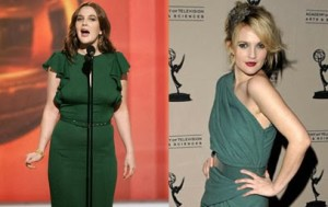 Drew Barrymore Breast Reduction Plastic Surgery Before and After Photo
