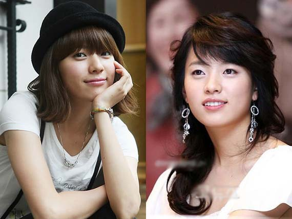 han hyo joo before and after photo
