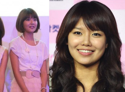 soo young before and after photo