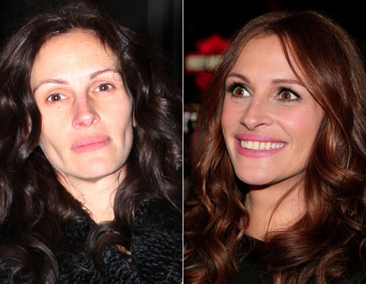 julia roberts before and after photo
