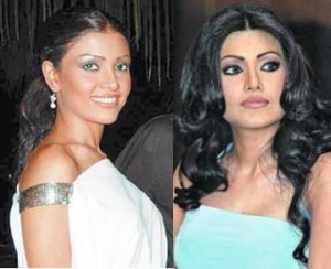 koena mitra before and after