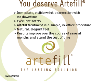 Artefill Cosmetic Surgery procedure