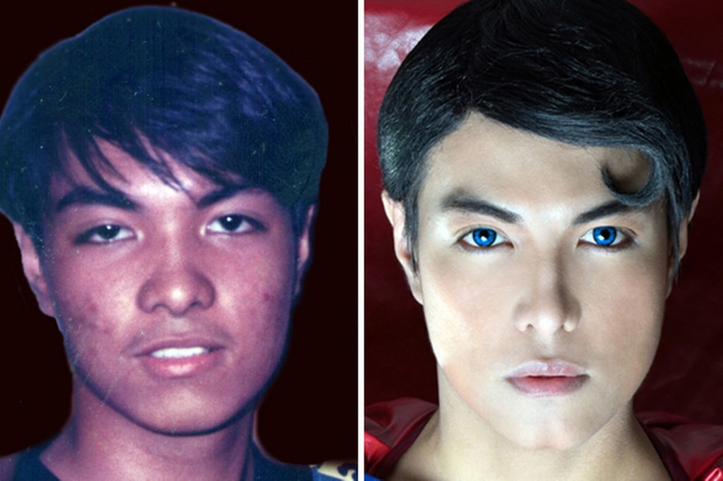 plastic surgery celebrity lookalike herbert chavez - superman