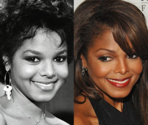 janet jackson nose job gone wrong