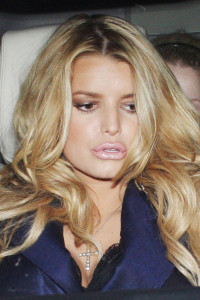 worst celebrity lip job, Jessica Simpson bad lip job