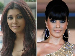 worst celebrity lip job, Koena mitra bad lip job