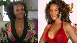 worst celebrity boob jobs, vivica a fox breast implants