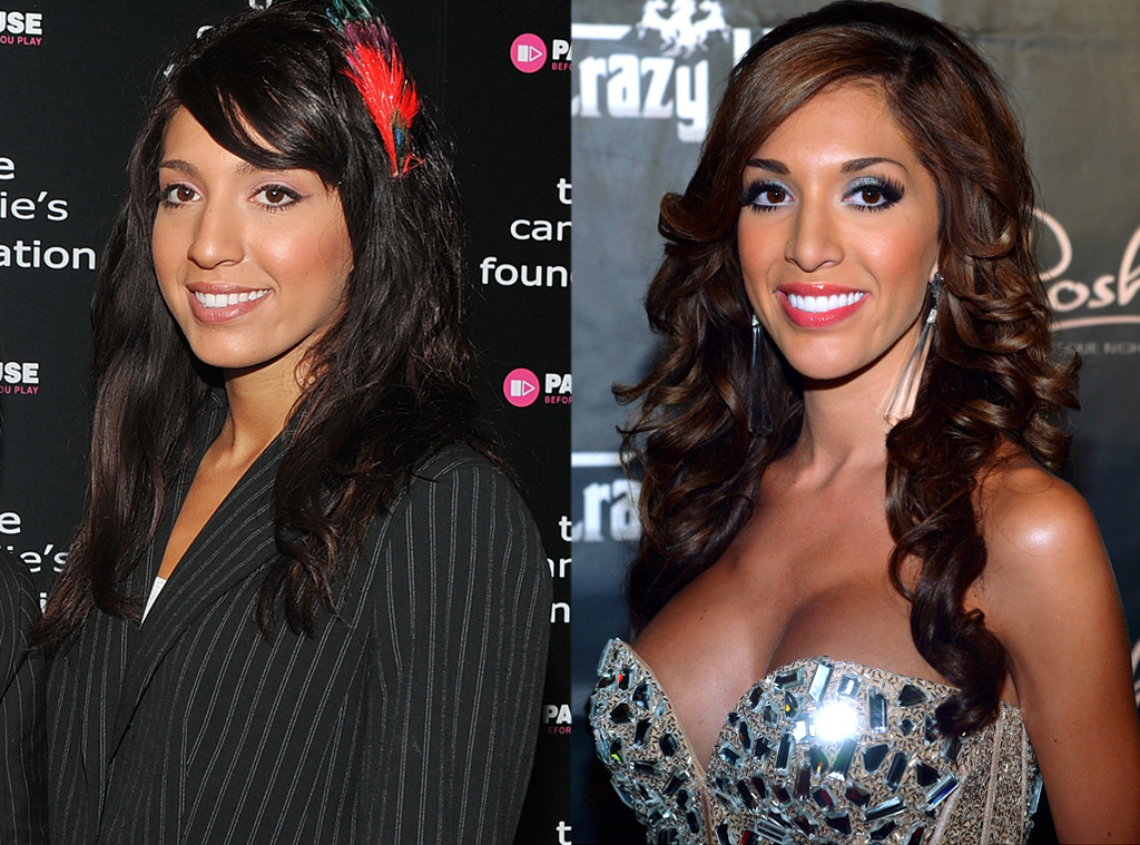 Farrah Abraham plastic surgery before and after photo, Farrah Abraham Plastic Surgery nose job, Farrah Abraham Plastic Surgery lip job