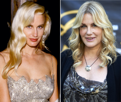 Daryl Hannah before and after photo