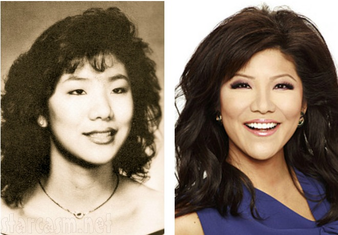 Julie Chen before and after plastic surgery photo
