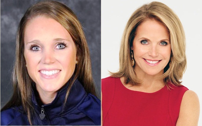 Katie Couric Face Uplift Before After Photo