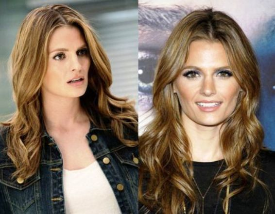 Stana Katic nose job before and after