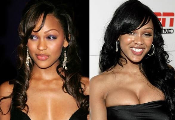Meagan Good Plastic Surgery before and after photos