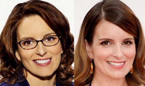 Tina Fey plastic surgery before and after photos