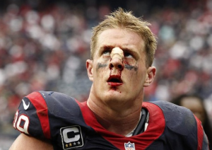 JJ Watt is Considering Plastic Surgery