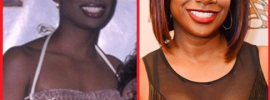 Kandi Burruss Breast Implants Before and After Photos
