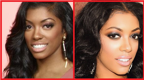 Porsha Williams nose job