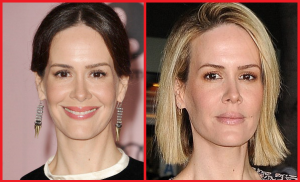 Sarah Paulson Lip Job Before and After Photos