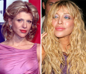 Courtney love before and after photo