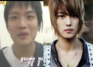kim jaejoong before and after photo