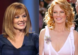 marg helgenberger before and after photo