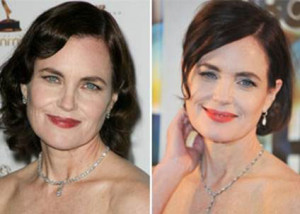 Elizabeth McGovern before and after photo