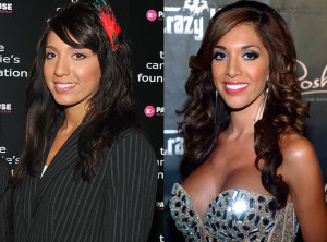 Farrah Abraham before and after photo