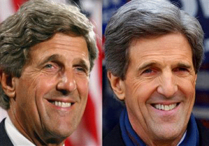 John Kerry before and after photo