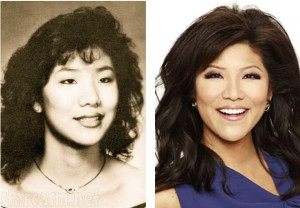 Julie Chen before and after photo