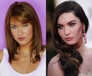 Megan Fox before and after Photo