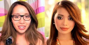 Michelle Phan Before After Plastic Surgery 2014, eyes and nose