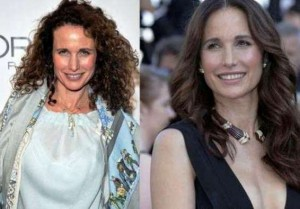 Andie MacDowell Plastic Surgery Before After