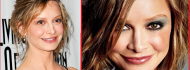Calista Flockhart plastic surgery before and after photos